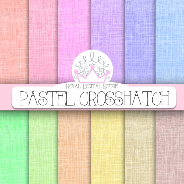 Crosshatch Digital Paper: